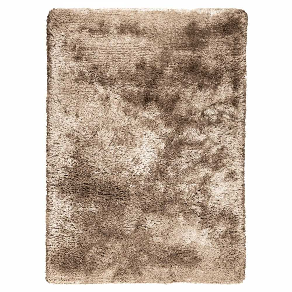 tapis shaggy taupe tapis briliant shaggy 160x230 taupe. Black Bedroom Furniture Sets. Home Design Ideas