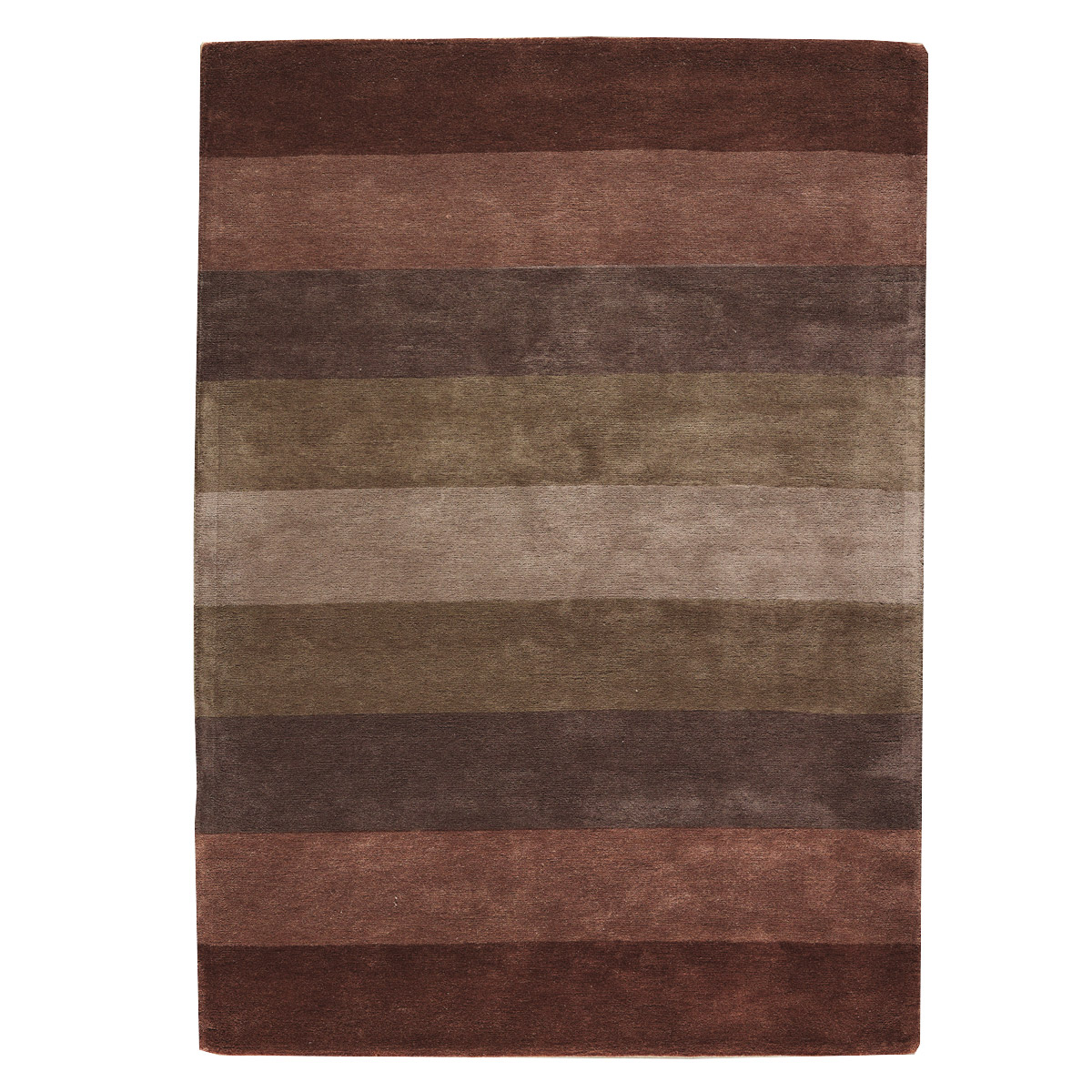 Tapis salon marron chocolat Beaux tapis contemporains