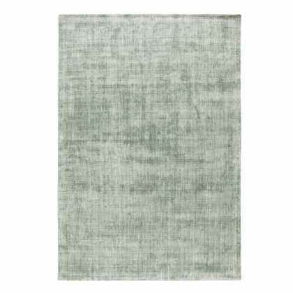 Tapis contemporain en viscose inspiration luxe Grand tapis clair