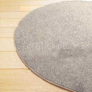 tapis rond naturel beige en jute tiss la main. Black Bedroom Furniture Sets. Home Design Ideas