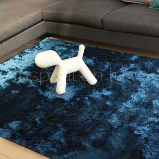 tapis contemporain bleu inspiration luxe. Black Bedroom Furniture Sets. Home Design Ideas