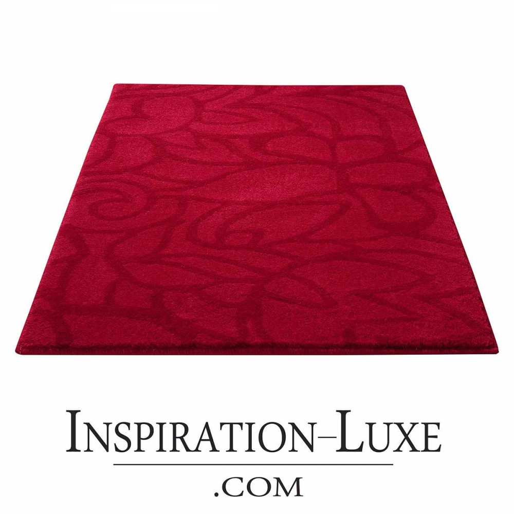 tapis de salle de bain haut de gamme rouge. Black Bedroom Furniture Sets. Home Design Ideas