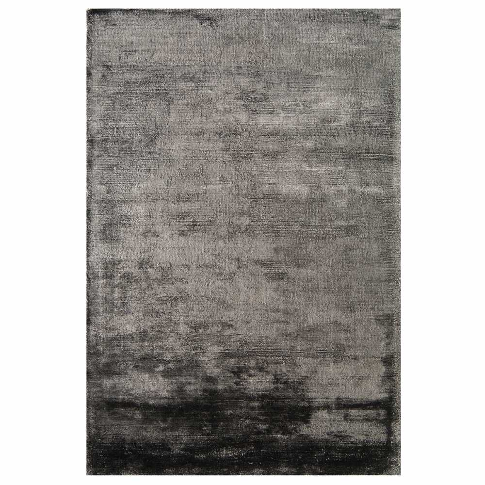 tapis moderne gris anthracite en viscose douceur par joseph lebon. Black Bedroom Furniture Sets. Home Design Ideas