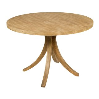 Table ronde en bois de mindy diamètre 120 cm