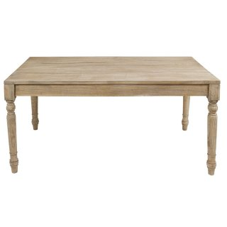 Table en bois de mindy 160 x 90 cm