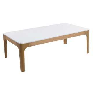 Table basse rectangulaire style Scandinave 120 X 65 cm