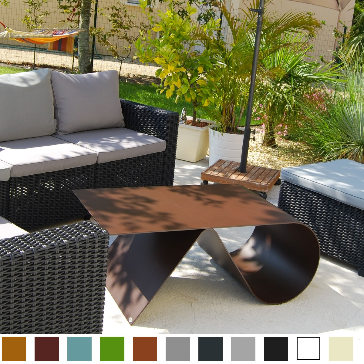 Table de jardin de luxe - Table de jardin design - Inspiration Luxe