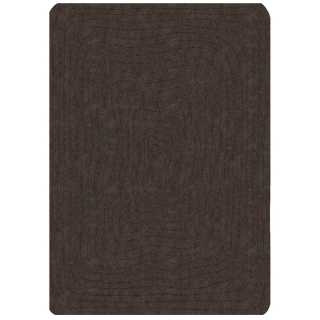 Tapis contemporain rectangulaire gris anthracite Eden par Angelo