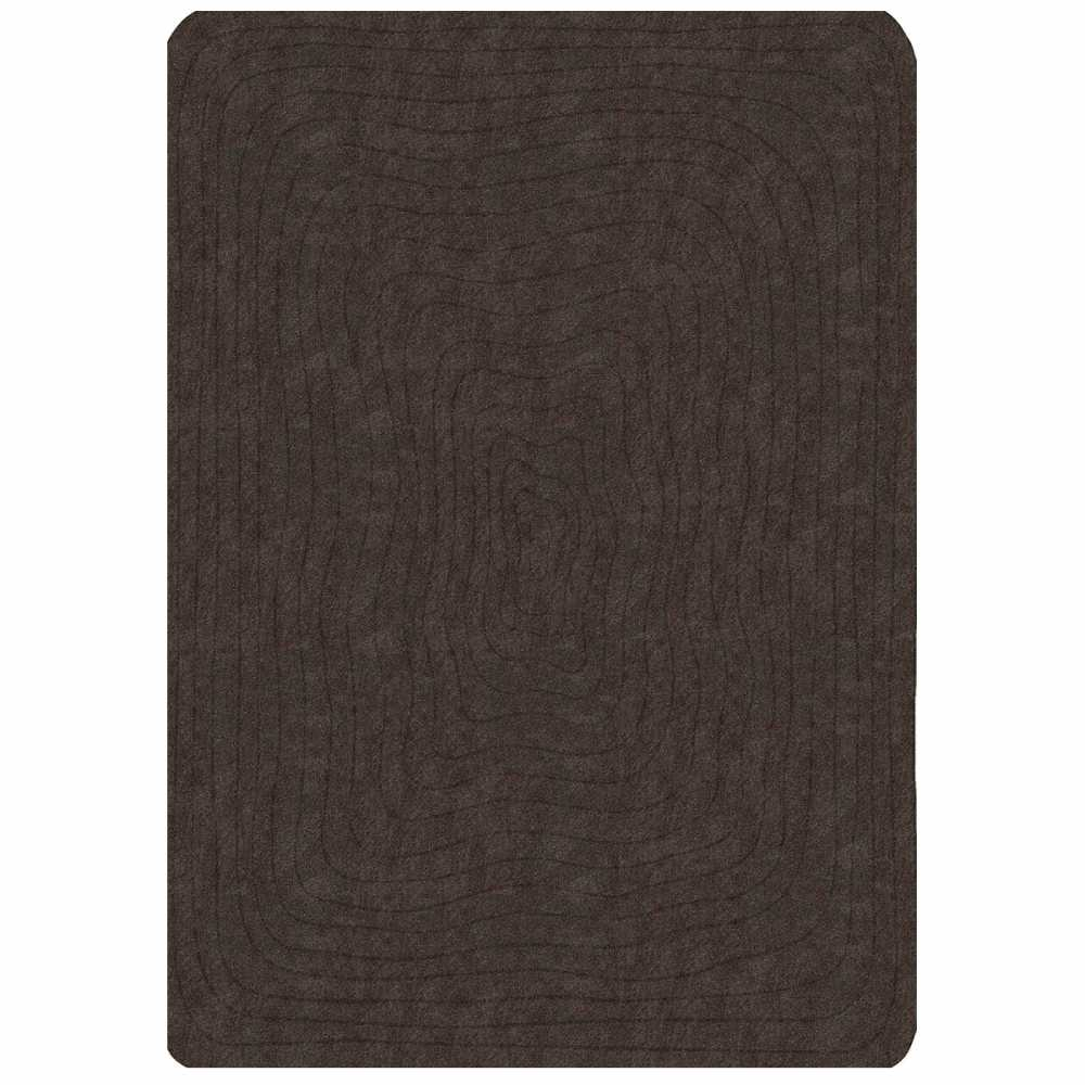 tapis de luxe rectangulaire gris anthracite eden par angelo. Black Bedroom Furniture Sets. Home Design Ideas