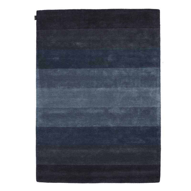 tapis de luxe bleu d grad en laine de nouvelle z lande. Black Bedroom Furniture Sets. Home Design Ideas