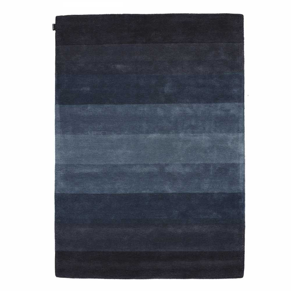 tapis de luxe bleu d grad en laine de nouvelle z lande tuft main par angelo. Black Bedroom Furniture Sets. Home Design Ideas