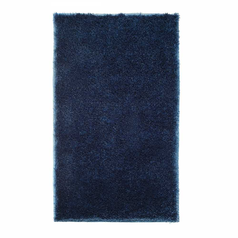 tapis de salle de bain de luxe bleu marine. Black Bedroom Furniture Sets. Home Design Ideas
