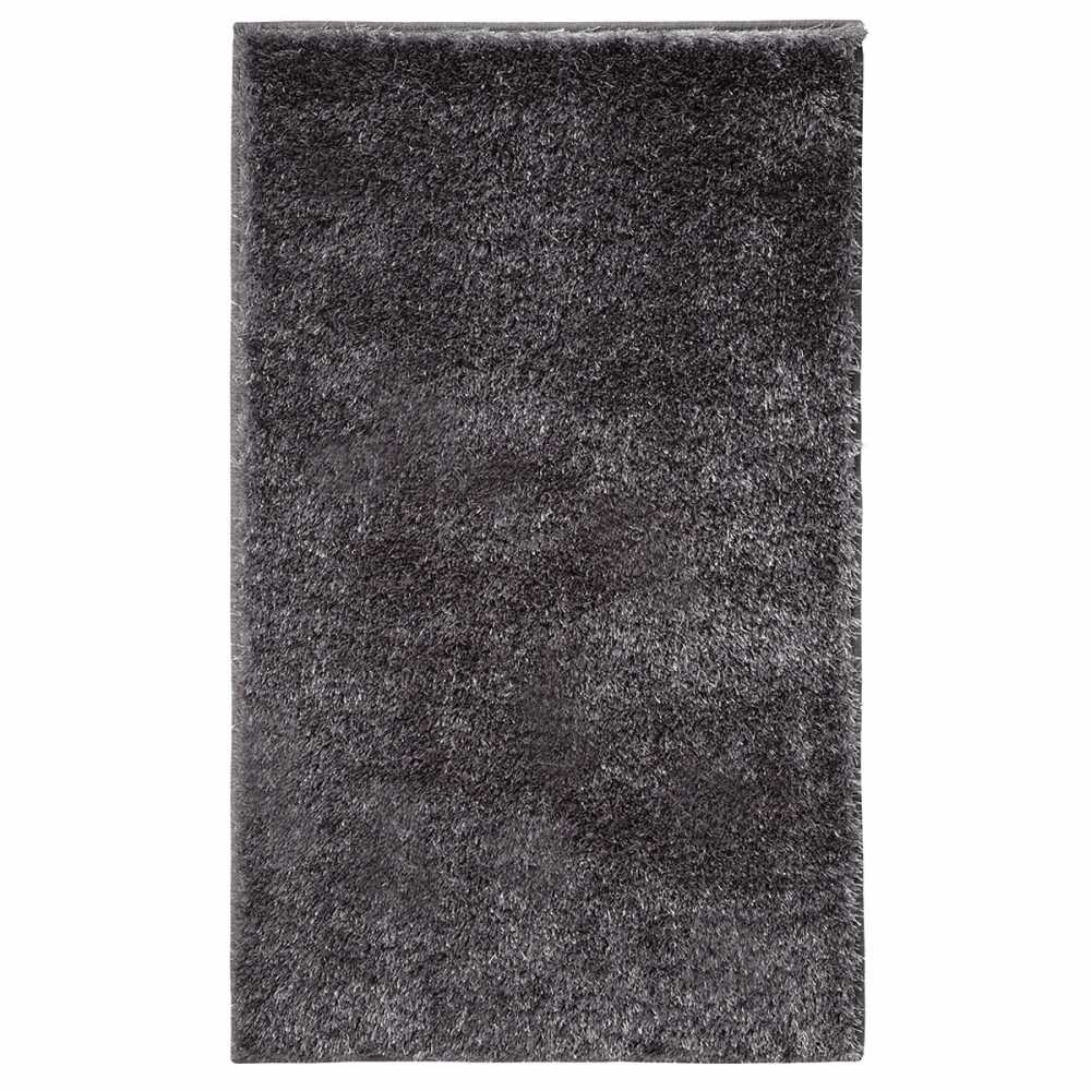 tapis salle de bain tapis de salle de bain 50x80cm gris. Black Bedroom Furniture Sets. Home Design Ideas