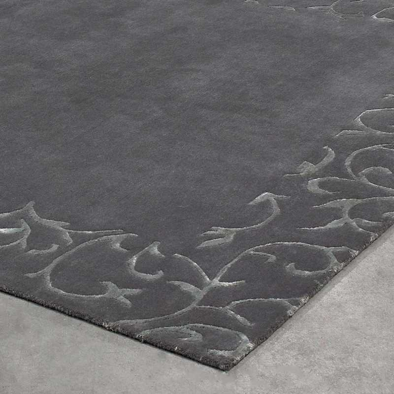 tapis sur mesure gris sydney par angelo. Black Bedroom Furniture Sets. Home Design Ideas