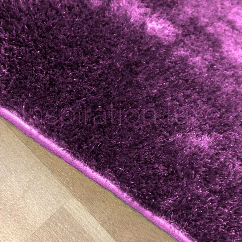 tapis sur mesure violet shaggy fin et doux. Black Bedroom Furniture Sets. Home Design Ideas