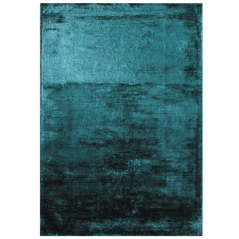 tapis haut de gamme bleu turquoise douceur teal par joseph lebon. Black Bedroom Furniture Sets. Home Design Ideas