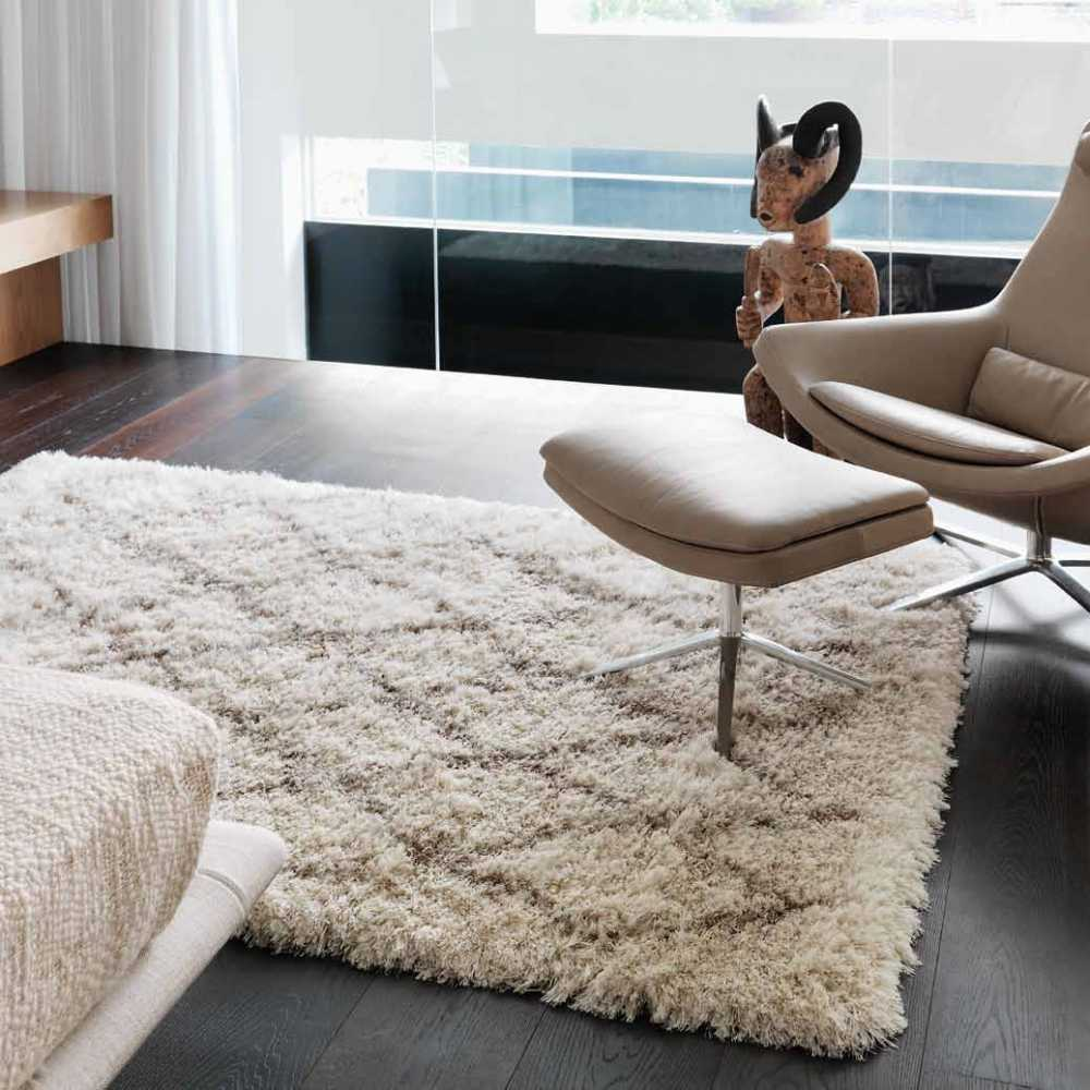tapis haut de gamme blanc cr me berber cream par joseph lebon. Black Bedroom Furniture Sets. Home Design Ideas