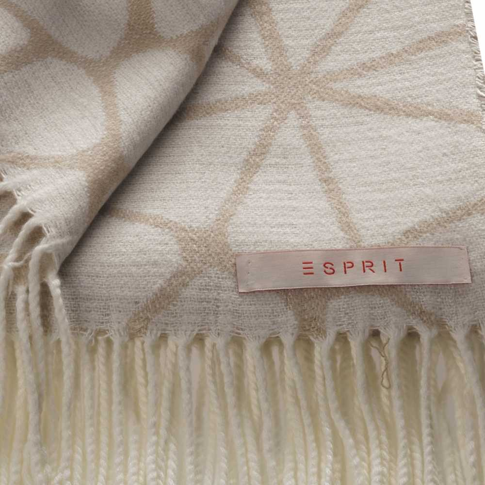 Plaid moderne beige clair et fonc par esprit home 150 x for Plaid contemporain
