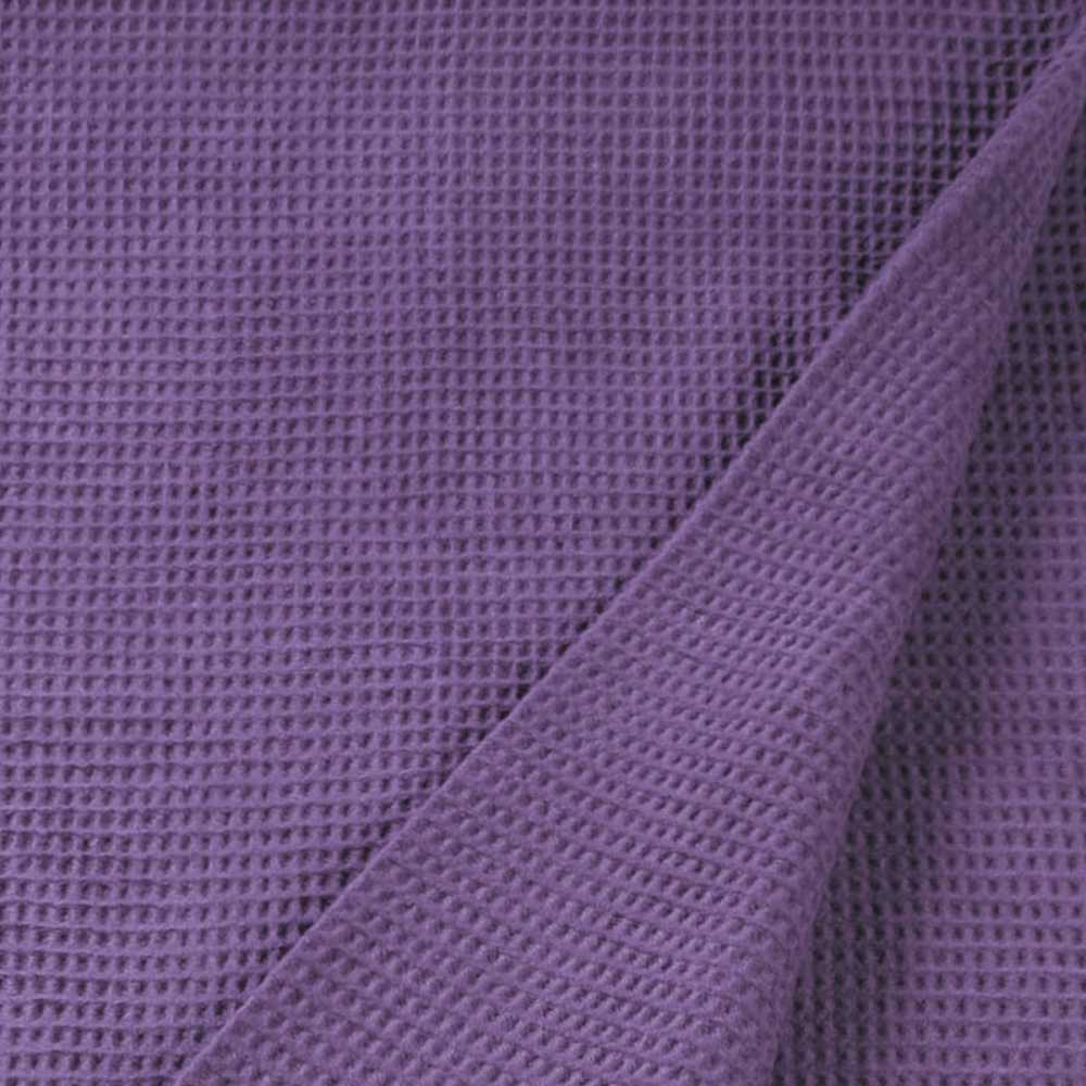 Plaid design violet à structure gaufrée par Esprit Home