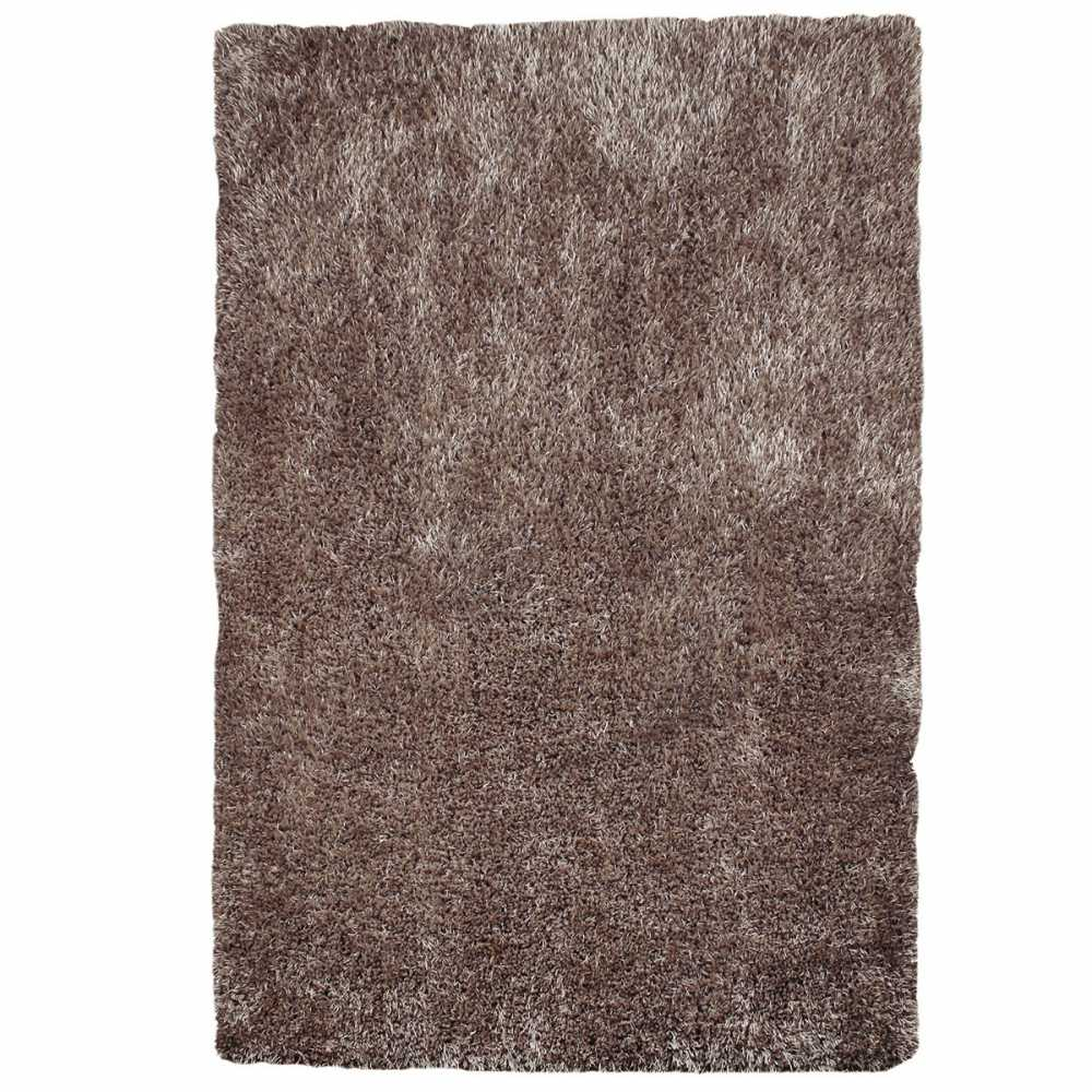 tapis longues m ches taupe doux. Black Bedroom Furniture Sets. Home Design Ideas