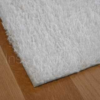 Tapis blanc lavable en machine sur mesure