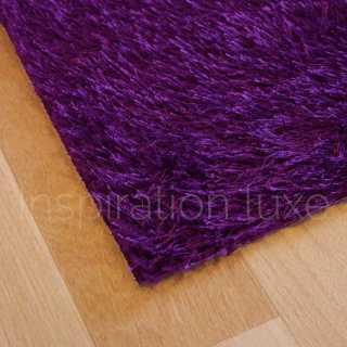 Tapis violet lavable en machine sur mesure