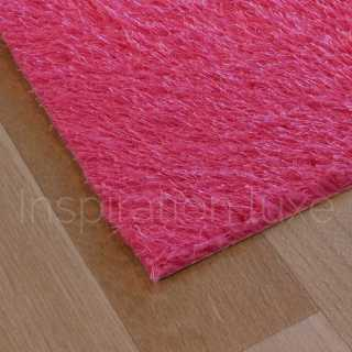 Tapis rose lavable en machine sur mesure