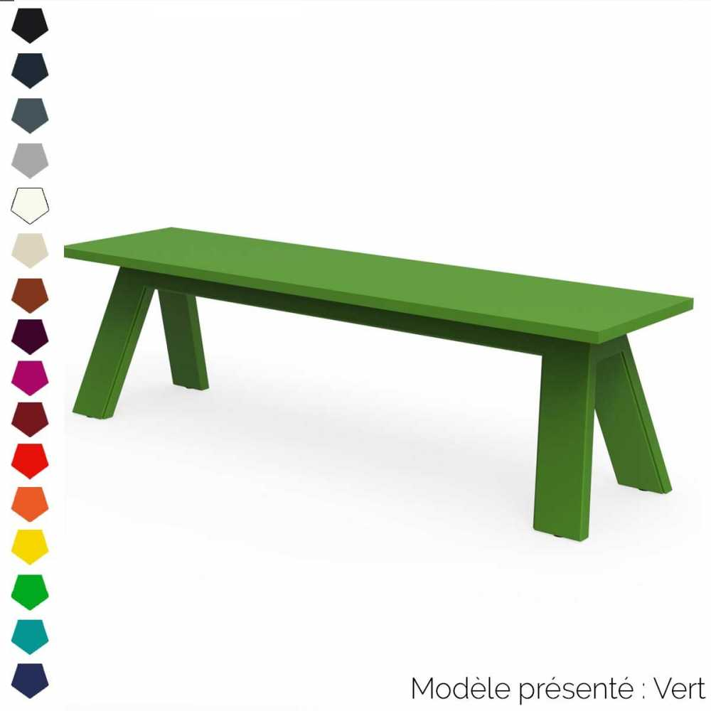 Banc design en m tal personnalisable int rieur et ext rieur for Interieur et exterieur
