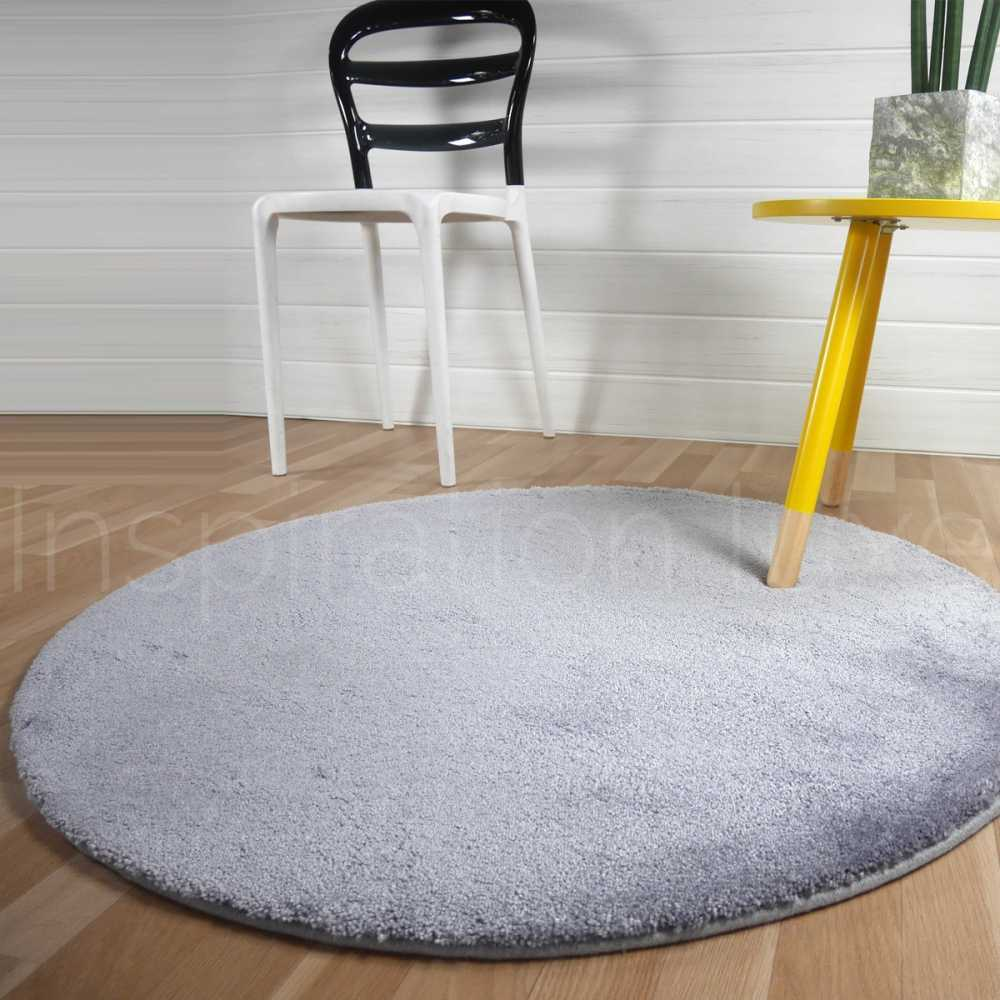 tapis rond 100 cm tapis shaggy rond taupe 100 cm ugo miliboo tapis rond 100 cm tapis shaggy. Black Bedroom Furniture Sets. Home Design Ideas