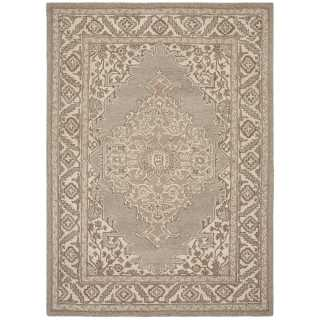 Tapis de prestige en laine naturel au design traditionnel par Joseph Lebon