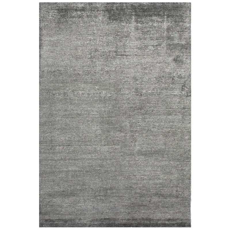 tapis de prestige gris fonc silky par angelo. Black Bedroom Furniture Sets. Home Design Ideas
