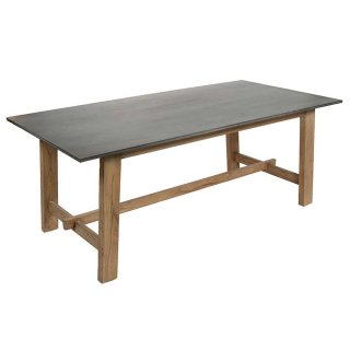 Table rectangulaire 200 x 100 cm en bois de Mindy